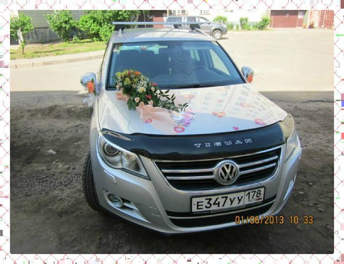 Как украсить авто на свадьбу