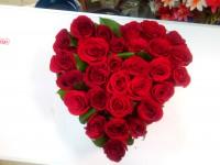 Сердце из роз -7000 руб.